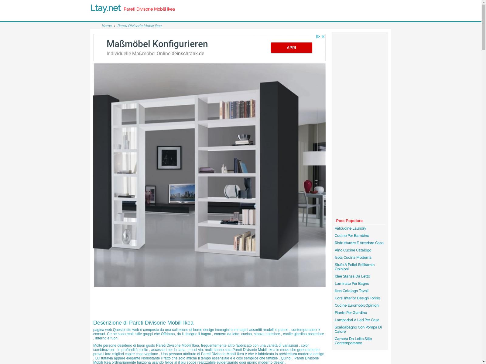 Libreria A Muro Moderna Ikea ltay - urlscan.io