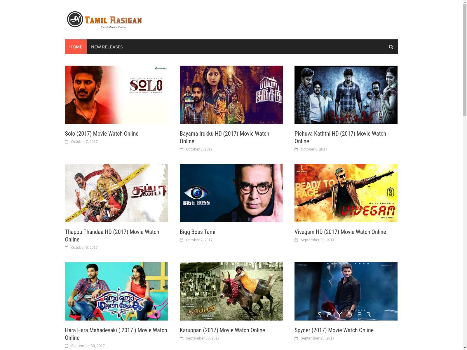 Tamil rasigan movies 2019
