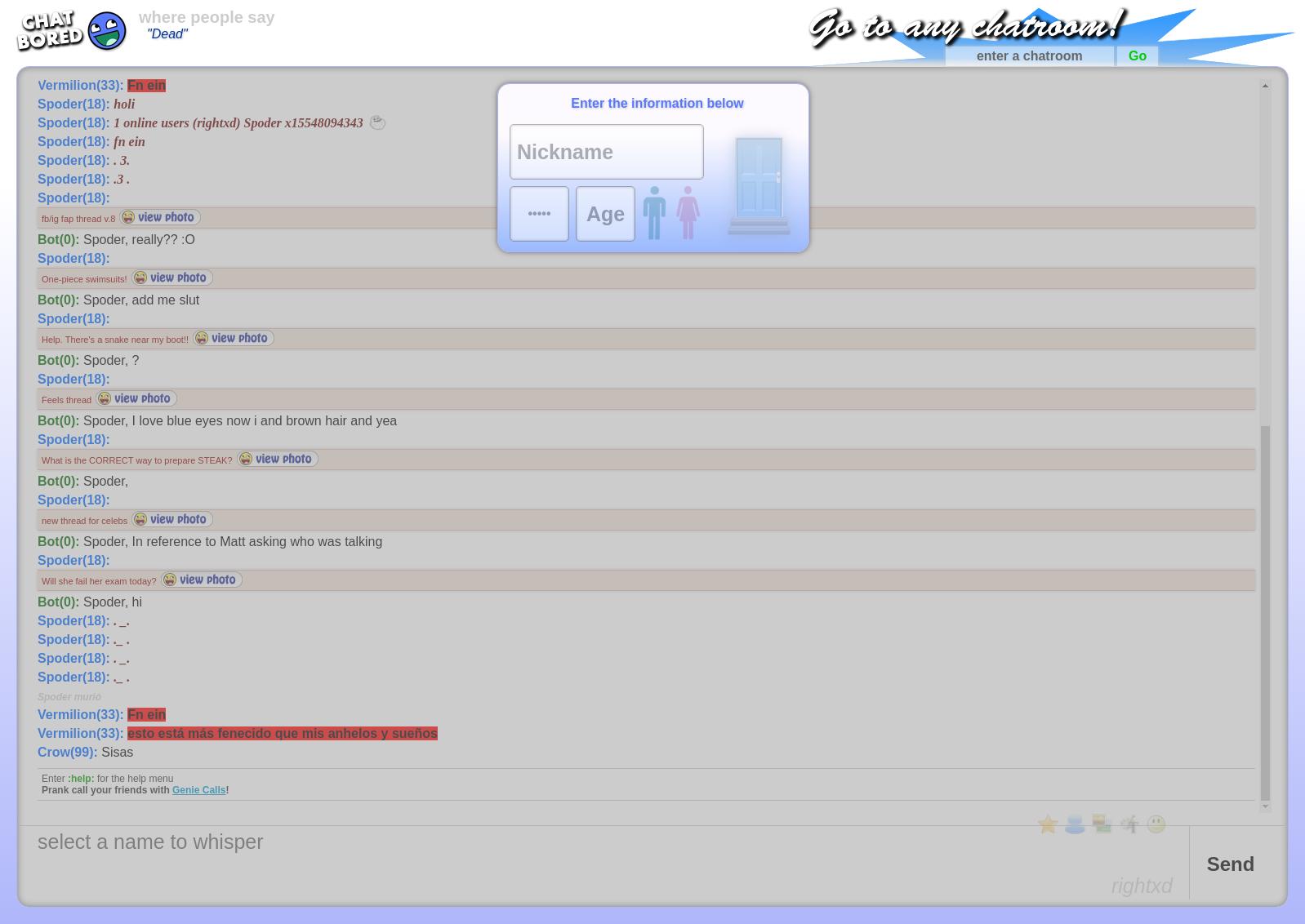 Chatbored com