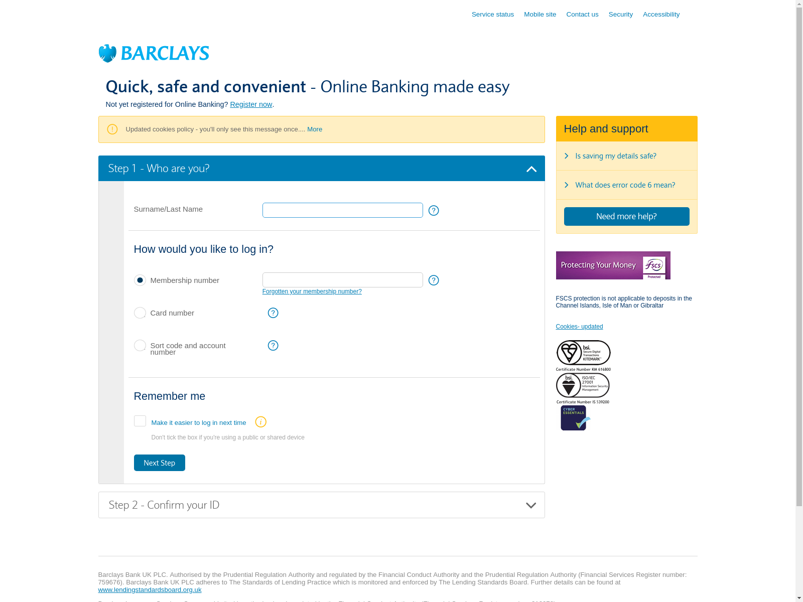 bank barclays co uk - urlscan io